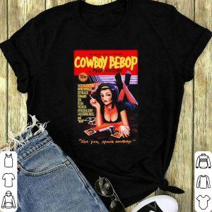Cowboy Bebop in Pulp Fiction shirt