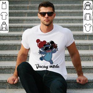 Mickey Mouse Stitch cream Vacay mode shirt