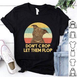 PitBull Don't crop let the flop vintage shirt
