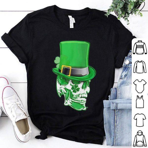 Saint Patrick's day Skull Clover shirt