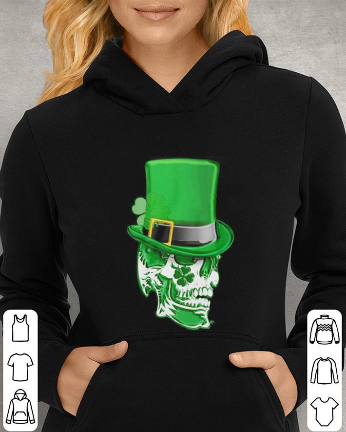 Saint Patrick s day Skull Clover shirt 4 - Saint Patrick's day Skull Clover shirt