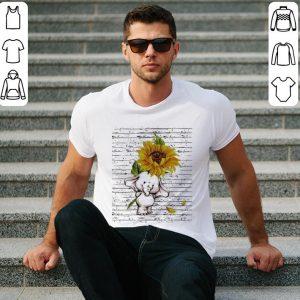 Sunflower elephant shirt