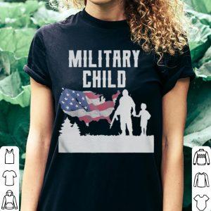 American Flag Military Child shirt 2