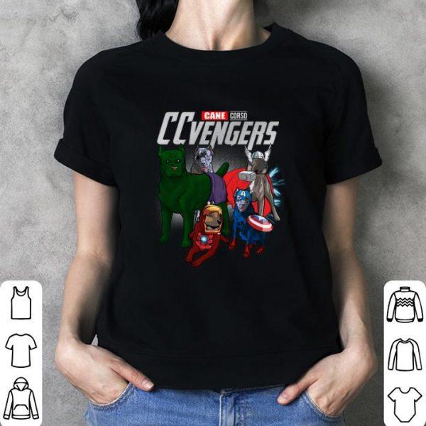 Cane Corso CCvengers Marvel Avengers Endgame shirt