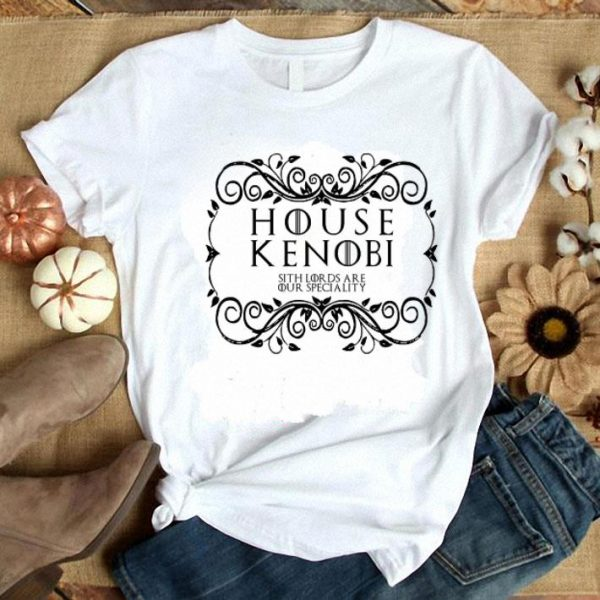 Game Of Thrones House Kenobi sith lords are our speciality shirt