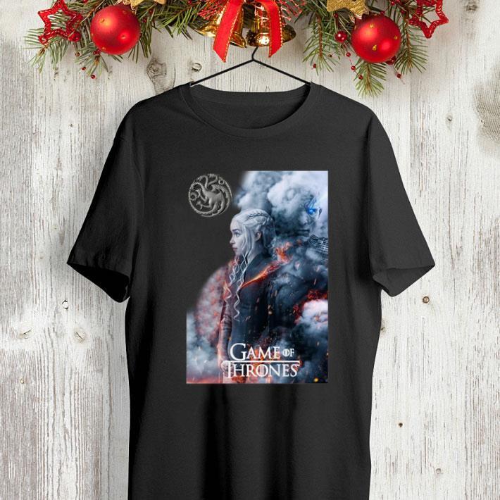 Game of Thrones Daenerys Targaryen and Night King shirt 4 - Game of Thrones Daenerys Targaryen and Night King shirt