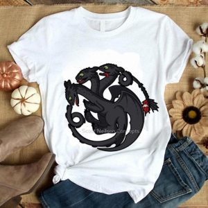 Game of thrones Toothless Targaryen shirt