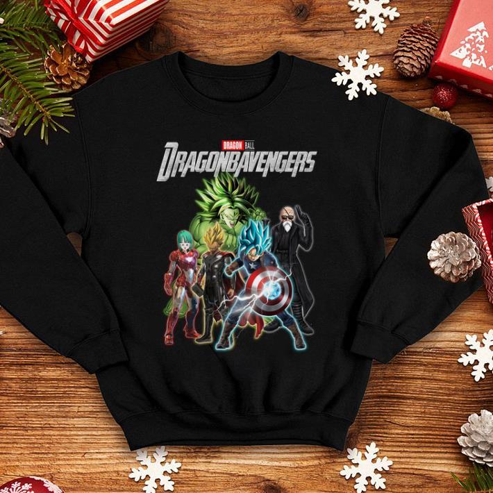 Marvel Avengers Endgame Dragon ball Dragonbavengers shirt 4 - Marvel Avengers Endgame Dragon ball Dragonbavengers shirt