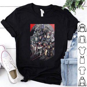 Marvel Avengers Endgame poster character all signature shirt