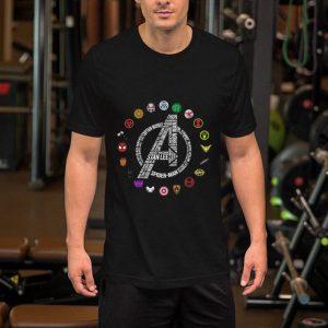 Marvel Avengers Endgame symbol all character shirt