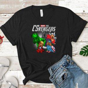Marvel Cocker Spaniel CSvenger Avengers Endgame shirt