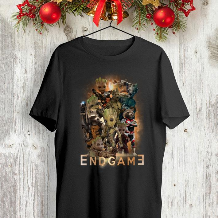 Marvel guardians of the galaxy Groot and Rocket raccoon Endgame shirt 4 - Marvel guardians of the galaxy Groot and Rocket raccoon Endgame shirt