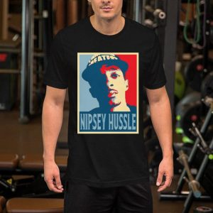 Rip Nipsey Hussle 1985-2019 Poster shirt 1