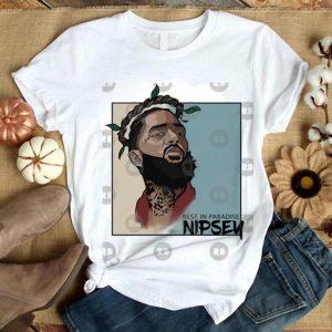 Rip Nipsey Hussle Rest In Paradise Crenshaw shirt
