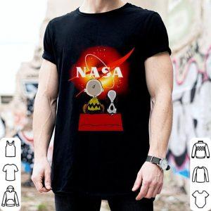 Snoopy and Charlie Brown Black Hole NASA shirt 1