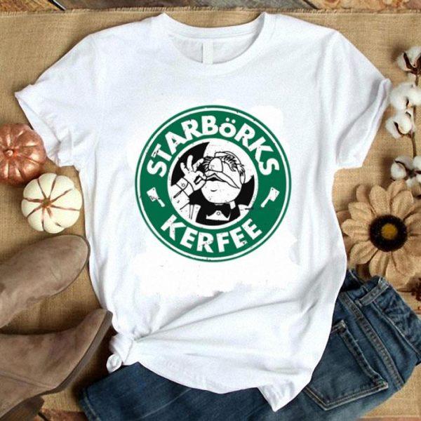 Starbucks Starborks kerfee swedish head chef shirt