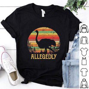 Vintage sunset Allegedly Ostrich shirt