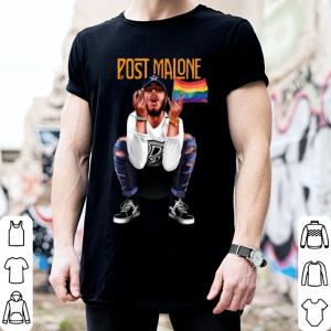 Post Malone American Rapper LGBT Flag shirt 1