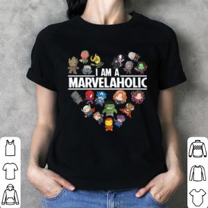 Avengers Endgame I am a Marvelaholic Marvel Aholic shirt 2