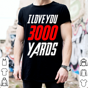 Avengers Iron Man I love you 3000 Yaros shirt