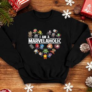 Avengers Endgame I am a Marvelaholic Marvel Aholic shirt 3