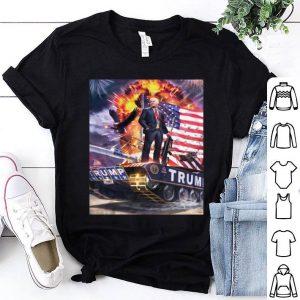 Donald Trump Gold Plated tank shirt