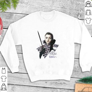 Arya Stark Not Today Maisie Williams signature Game Of Thrones shirt