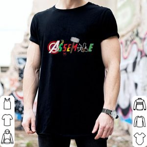 Avengers Endgame Marvel Assemble shirt