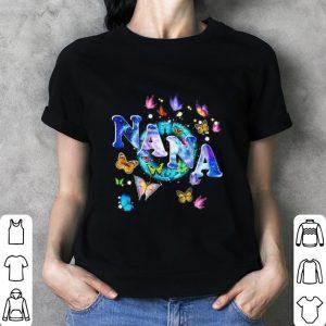 Butterflies nana shirt 2