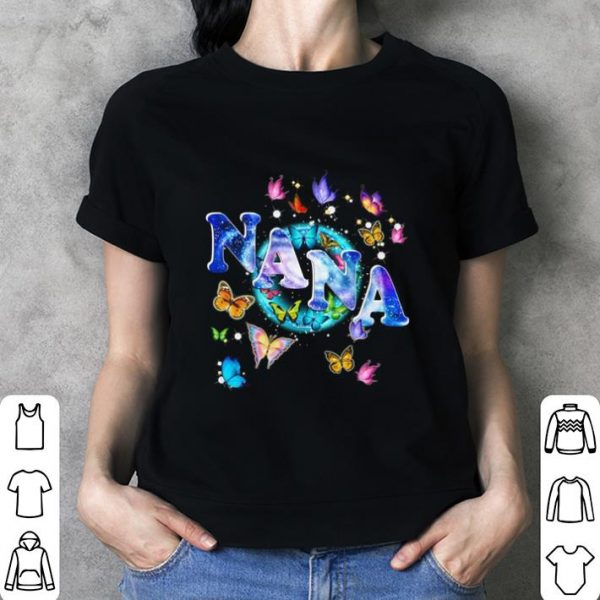 Butterflies nana shirt