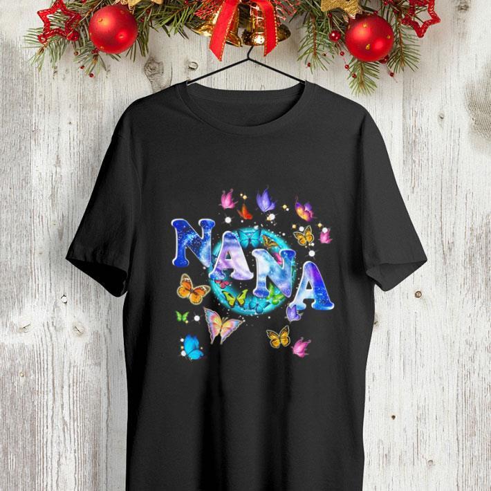 Butterflies nana shirt 4 - Butterflies nana shirt