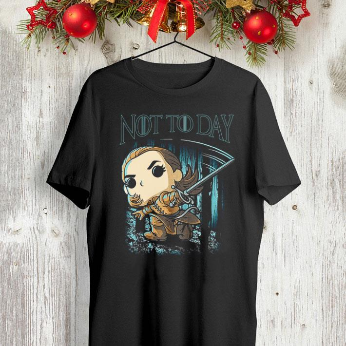 Chibi Arya Stark Not Today Game Of Thrones shirt 4 - Chibi Arya Stark Not Today Game Of Thrones shirt