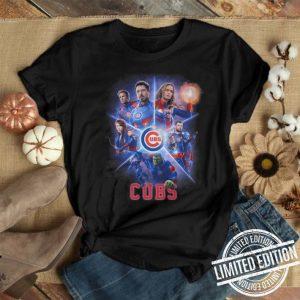Chicago Cubs Marvel Avengers Endgame shirt