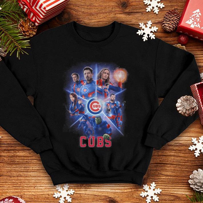 Chicago Cubs Marvel Avengers Endgame shirt 4 - Chicago Cubs Marvel Avengers Endgame shirt