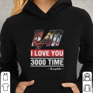 Dad I love You 3000 time Iron Man daughter shirt 2