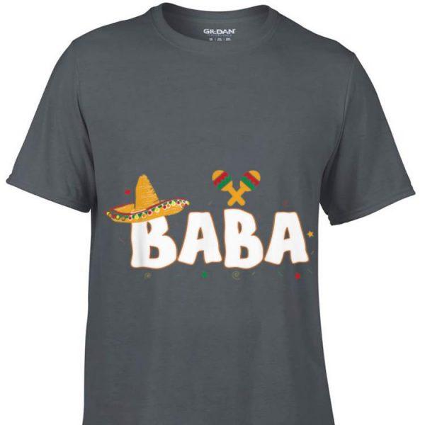Fiesta Mexican Party Cinco De Mayo Baba Grandpa shirt