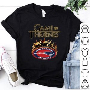 Game Of Thrones Crown New England Patriots shirt