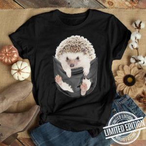 Hedgehog inside pocket shirt