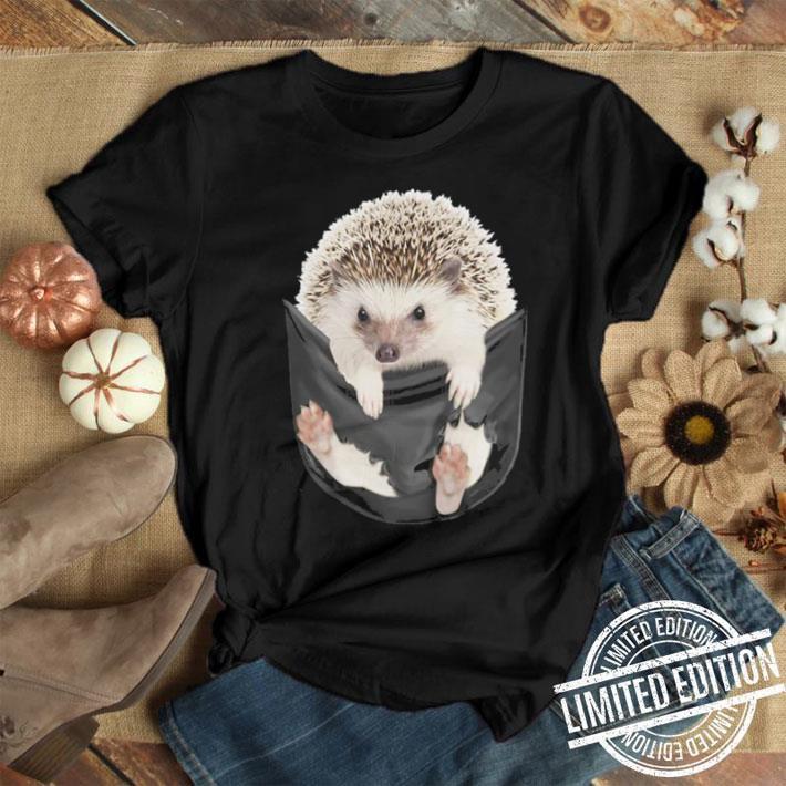 3a6767e3 Hedgehog inside pocket shirt, hoodie, sweater, longsleeve t-shirt
