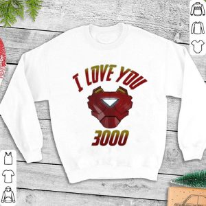 I Love You 3000 Iron Man Avengers Endgame Tony Stark shirt