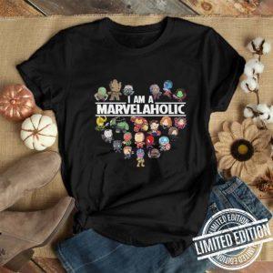 I am a Marvelaholic Marvel Universe shirt