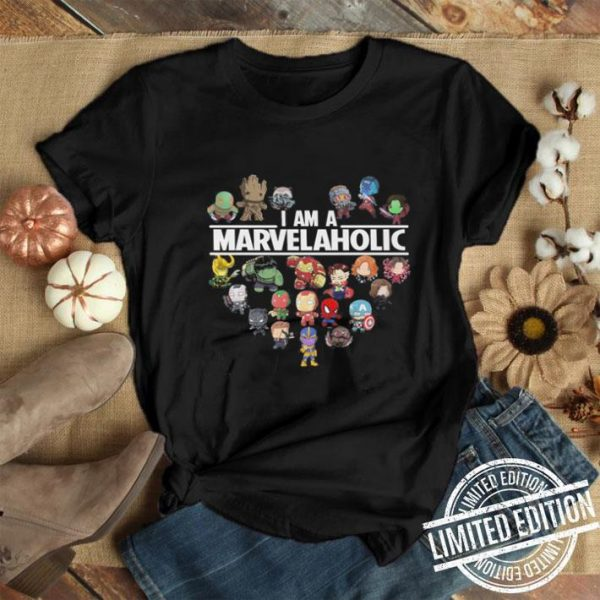 I am a Marvelaholic Marvel Universe shirt