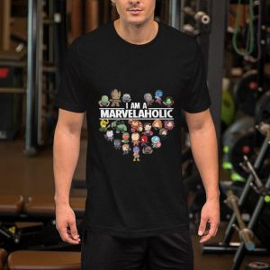 I am a Marvelaholic Marvel Universe shirt 1