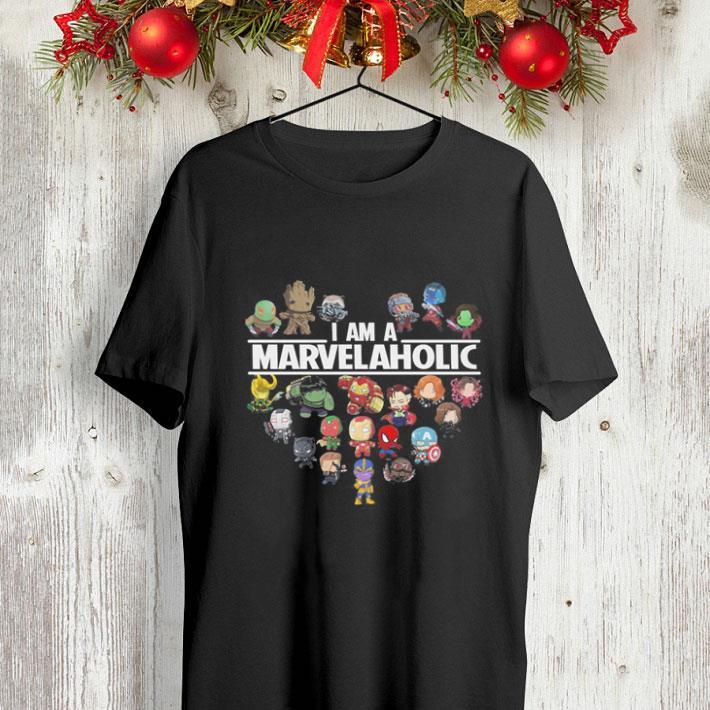 I am a Marvelaholic Marvel Universe shirt 4 - I am a Marvelaholic Marvel Universe shirt