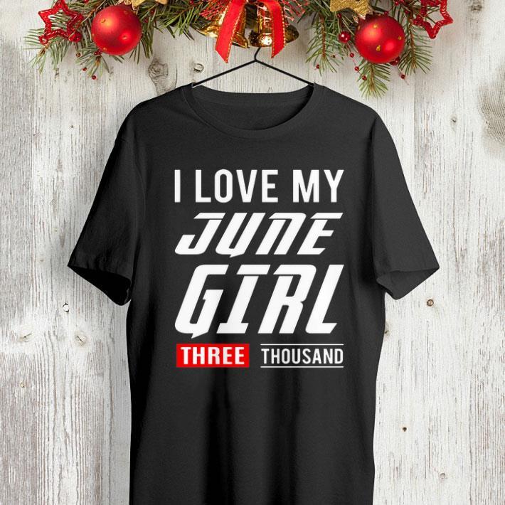 I love my june girl three thousand Marvel Studios shirt 4 - I love my june girl three thousand Marvel Studios shirt