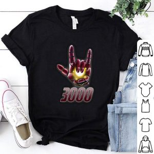 I love you sign 3000 Iron Man Tony Stark Daughter shirt