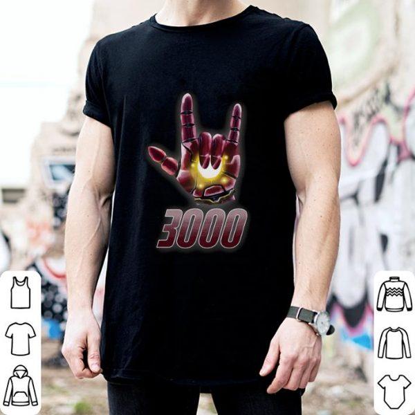 I love you sign 3000 Iron Man Tony Stark Daughter shirt