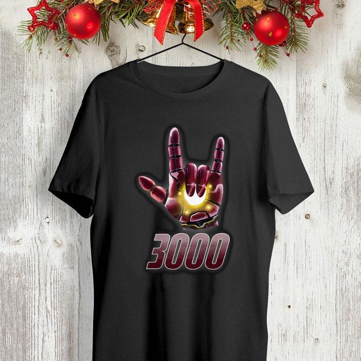 I love you sign 3000 Iron Man Tony Stark Daughter shirt 4 - I love you sign 3000 Iron Man Tony Stark Daughter shirt