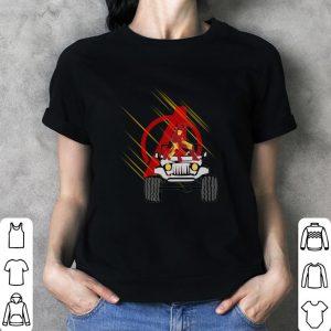 Iron Man Avengers Jeep car Endgame shirt 2