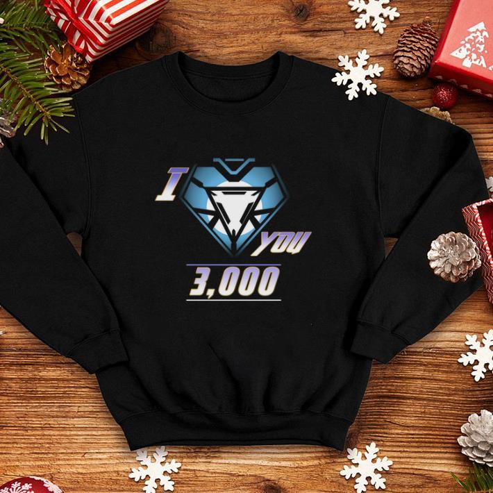 Iron Man and daughter I love You 3000 shirt 4 - Iron Man and daughter I love You 3000 shirt